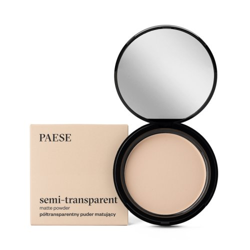 Matte Powder Semitransparent PAESE 9 gr