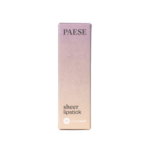 Sheer Lipstick PAESE Nanorevit 2,2 gr